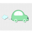 cute baby clip art car for scrapbook or kids vector image vector image