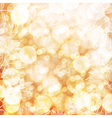 Happy Thanksgiving background Autumn blur vector image vector image
