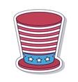 patriotic isolated icon design vector image vector image