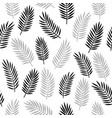 black and white and grey seamless ornamental vector image vector image