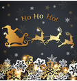 Christmas luxurious background with Santa Claus vector image vector image