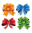 Festive bows vector image