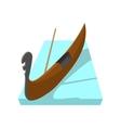 gondola icon cartoon style vector image vector image