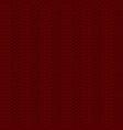knit blue pattern vector image