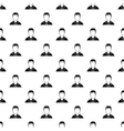 Man in shirt avatar pattern simple style vector image vector image