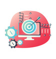 material design icon for testing training or vector image vector image