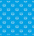 medieval axe pattern seamless blue vector image vector image
