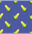 yellow corn seamless pattern vector image