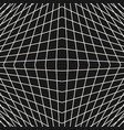 3d grid seamless pattern modern dark background vector image
