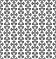 christmas black and white seamless vector image