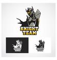 knight symbol vector image