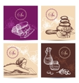 Spa Cards Set vector image vector image
