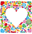 Candy heart vector | Price: 1 Credit (USD $1)