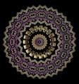 elegant tribal ethnic style greek mandala vector image vector image