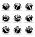 Glossy icon set 31 vector image vector image