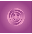 Pink Twisted Abstract spiral of vector image
