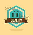 premium quality template vector image