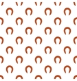 Sausage pattern cartoon style vector image vector image