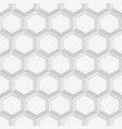 seamless geometric abstract patterns from hexagons vector image