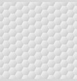 seamless hexagons white wall texture vector image