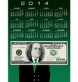 2014 100 Ben Calendar vector image vector image