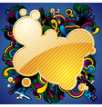abstract banner and background vector image vector image