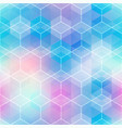 abstract light mosaic seamless pattern vector image