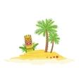 Beach Hawaiian Vacation Classic Symbol vector image vector image