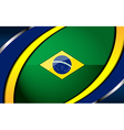 brazil backgrounds design vector image