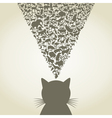 Cat6 vector image vector image