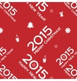 Christmas words seamless pattern vector image vector image