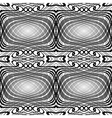 Design seamless monochrome grid pattern vector image vector image