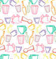 Dishes color pattern