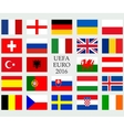 Flags of country vector image vector image