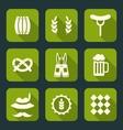 Oktoberfest Symbols vector image vector image