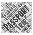 Preparing for Your Trip to Mexico Word Cloud vector image vector image