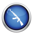 Rassian weapon rifle icon vector image