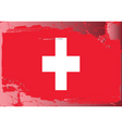 switzerland national flag vector image