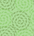green leves seamless pattern vector image