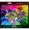 PArty Club Flyer for Music event vector image