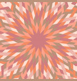 abstract colorful hypnotic round tile mosaic vector image vector image