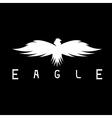 abstract design template bird eagle vector image vector image