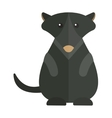 Cute Australia groundhog funny cartoon character vector image