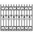 fence gate vector image vector image