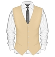 Formal wear for men vector image vector image