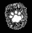 hand drawn doodle Funny Dogs Set vector image vector image