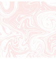 light white and pink marble texture liquid vector image vector image