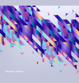 modern gradient banner with abstract geometric vector image vector image