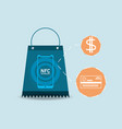 nfc payment design concept vector image vector image