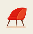 office chair cartoon vector image vector image